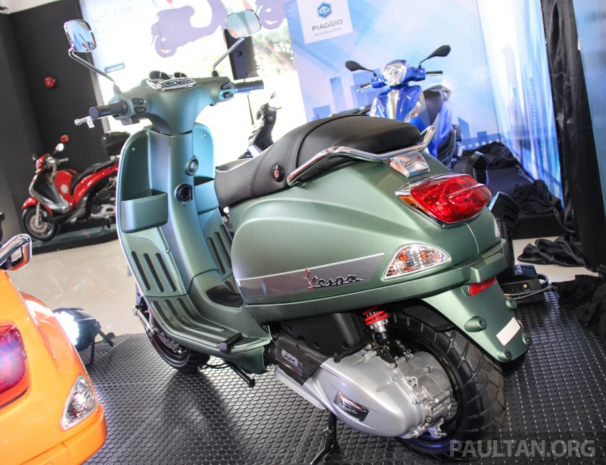 2017 Vespa S 125 i-GET and Piaggio Medley S 150 ABS launched – RM12,603 and RM18,327, respectively Image #695525