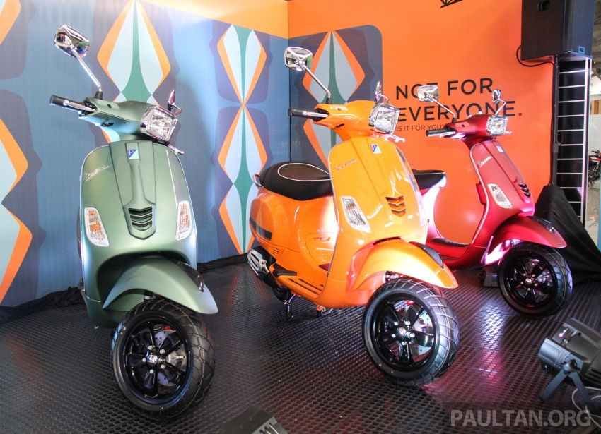 2017 Vespa S 125 i-GET and Piaggio Medley S 150 ABS launched – RM12,603 and RM18,327, respectively Image #695498