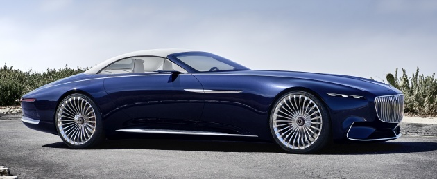 vision mercedes-maybach 6 cabriolet - future luxury