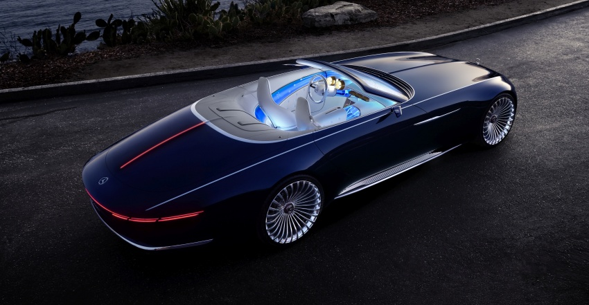 Vision Mercedes-Maybach 6 Cabriolet – future luxury Image #701360