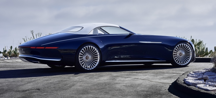 Vision Mercedes-Maybach 6 Cabriolet – future luxury Image #701363