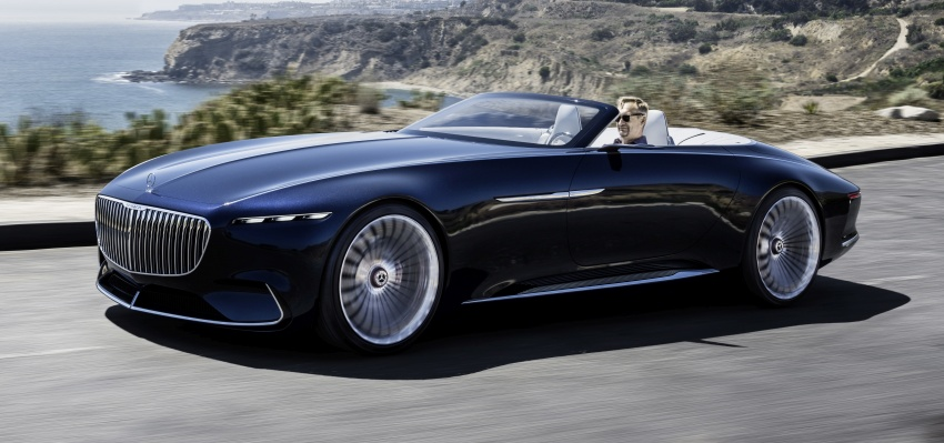 Vision Mercedes-Maybach 6 Cabriolet – future luxury Image #701364
