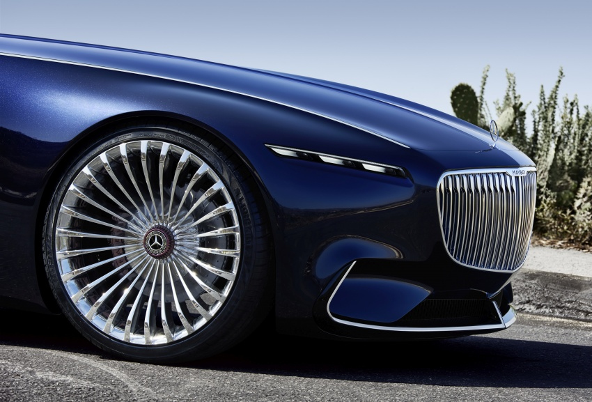 Vision Mercedes-Maybach 6 Cabriolet – future luxury Image #701366