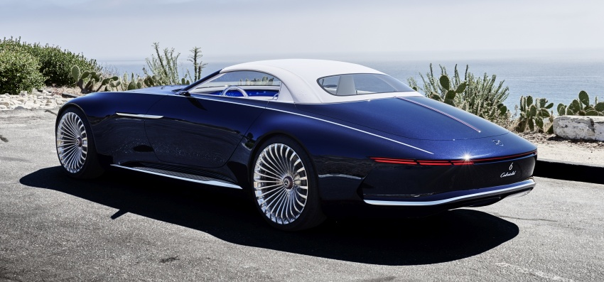 Vision Mercedes-Maybach 6 Cabriolet – future luxury Image #701367
