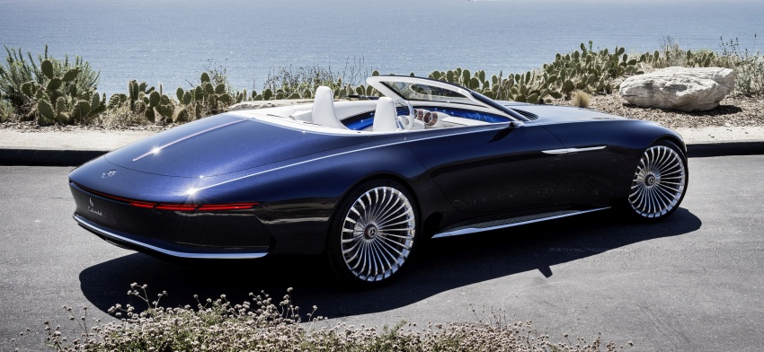 Vision Mercedes-Maybach 6 Cabriolet – future luxury Image #701368