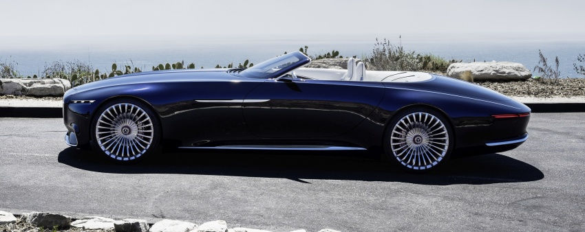 Vision Mercedes-Maybach 6 Cabriolet – future luxury Image #701369