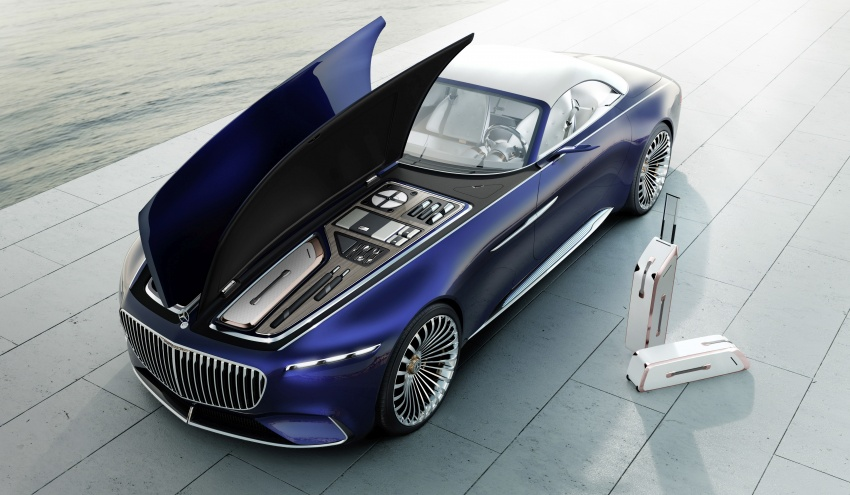 Vision Mercedes-Maybach 6 Cabriolet – future luxury Image #701370