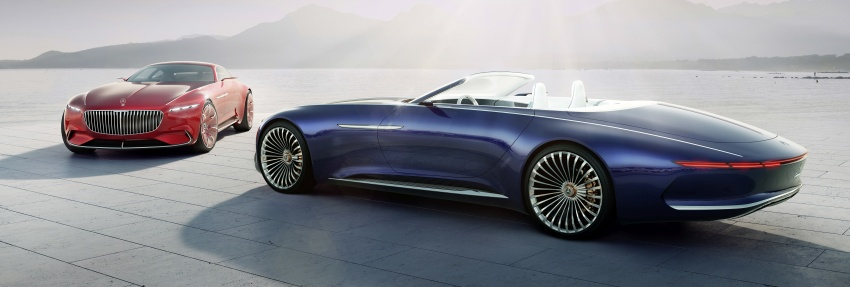 Vision Mercedes-Maybach 6 Cabriolet – future luxury Image #701371
