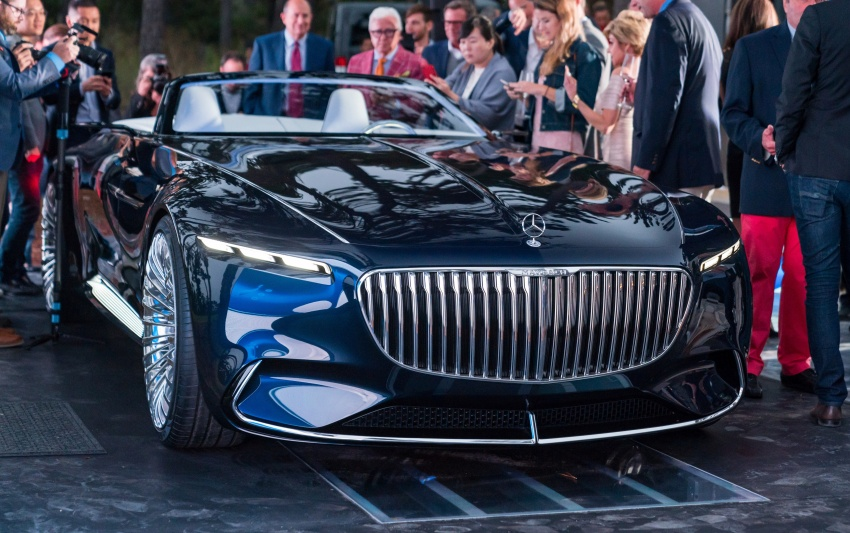 Vision Mercedes-Maybach 6 Cabriolet – future luxury Image #701373