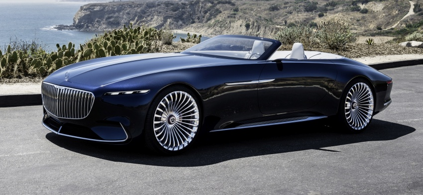 Vision Mercedes-Maybach 6 Cabriolet – future luxury Image #701353
