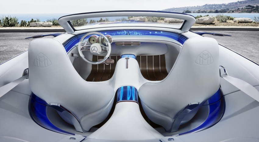 Vision Mercedes-Maybach 6 Cabriolet – future luxury Image #701355