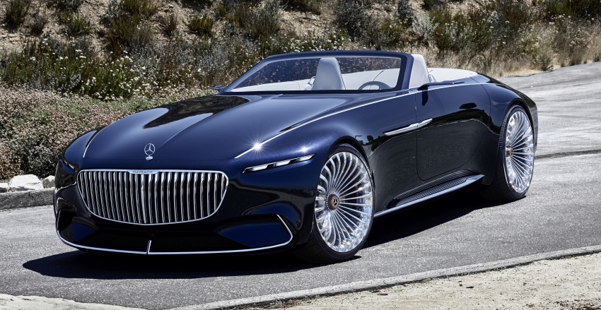 Vision Mercedes-Maybach 6 Cabriolet – future luxury Image #701356