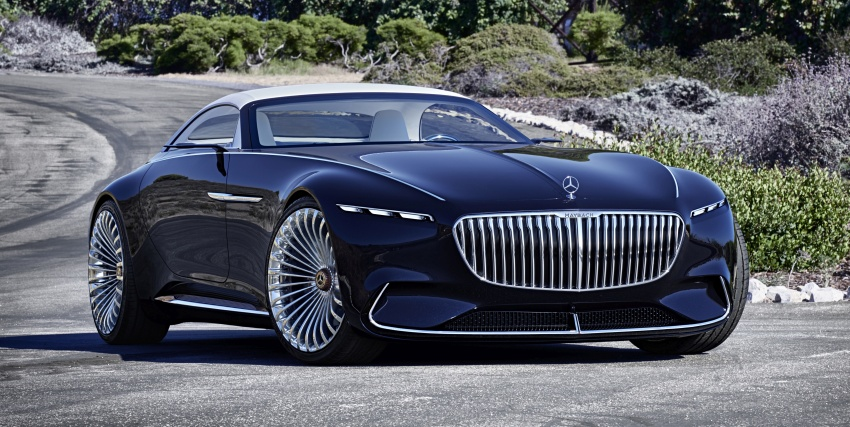 Vision Mercedes-Maybach 6 Cabriolet – future luxury Image #701357