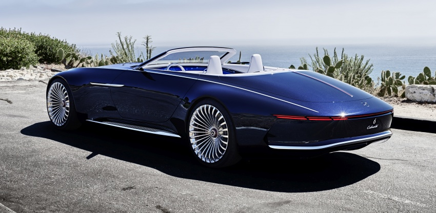 Vision Mercedes-Maybach 6 Cabriolet – future luxury Image #701358