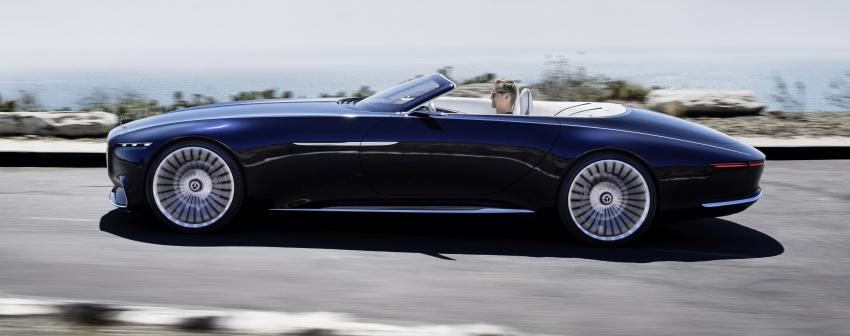 Vision Mercedes-Maybach 6 Cabriolet – future luxury Image #701359