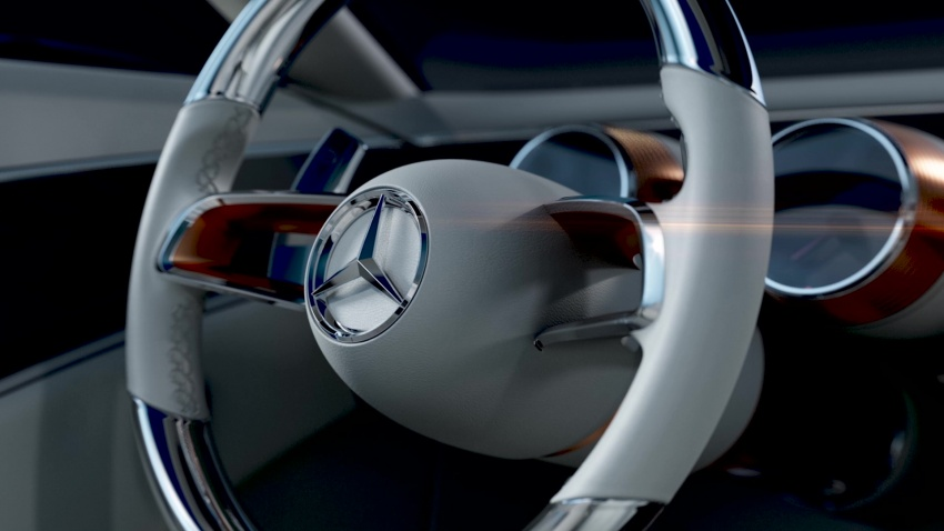 VIDEO: Mercedes-Benz teases new 'Vision' show car Image #695230