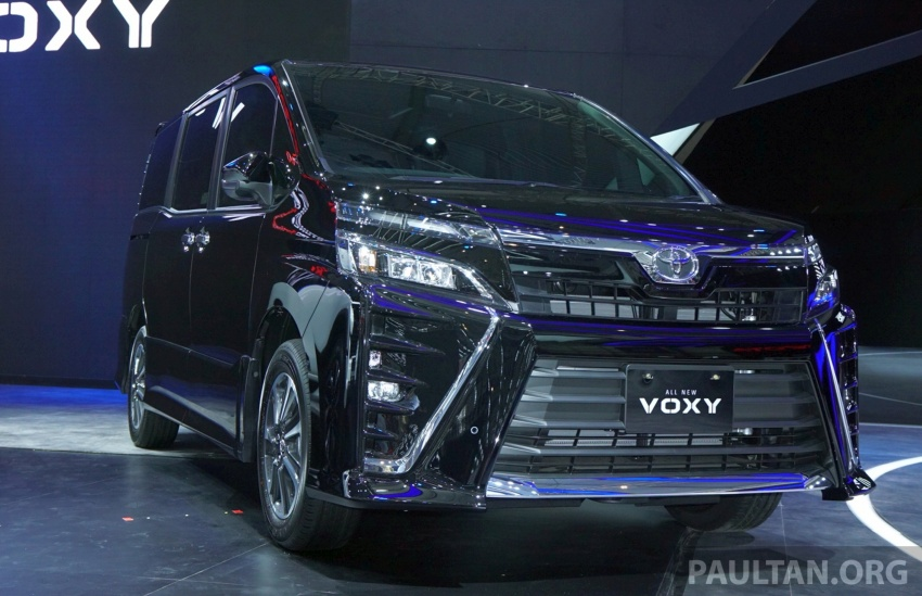 GIIAS 2017: Toyota Voxy – third-gen facelift debuts Image #698385