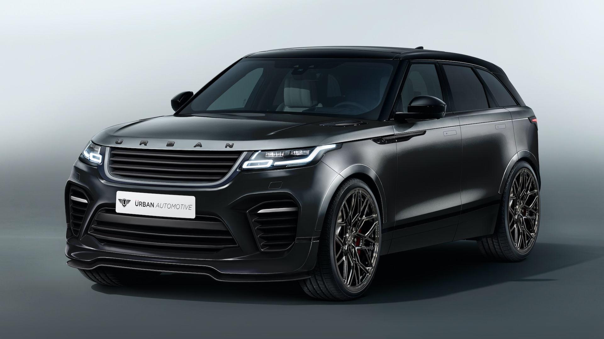 range rover velar gains urban automotive makeover. Black Bedroom Furniture Sets. Home Design Ideas