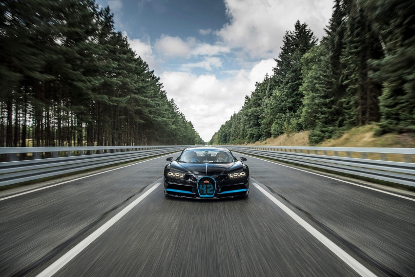 VIDEO: Bugatti Chiron – 0-400-0 km/h in 42 seconds! Image #708316