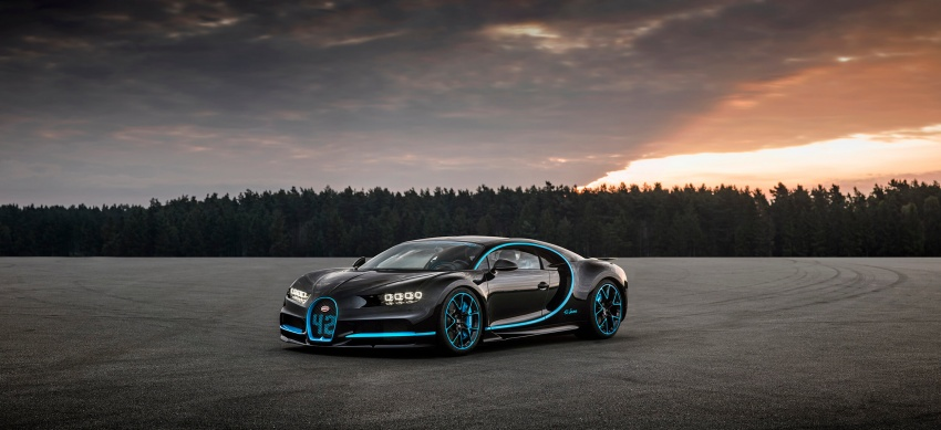 VIDEO: Bugatti Chiron – 0-400-0 km/h in 42 seconds! Image #708332