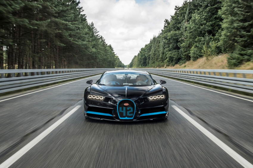 VIDEO: Bugatti Chiron – 0-400-0 km/h in 42 seconds! Image #708317