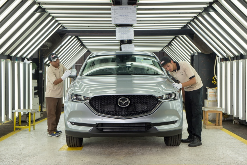 Mazda Malaysia launches new paint centre at Inokom plant – exports to include more ASEAN countries Image #715855
