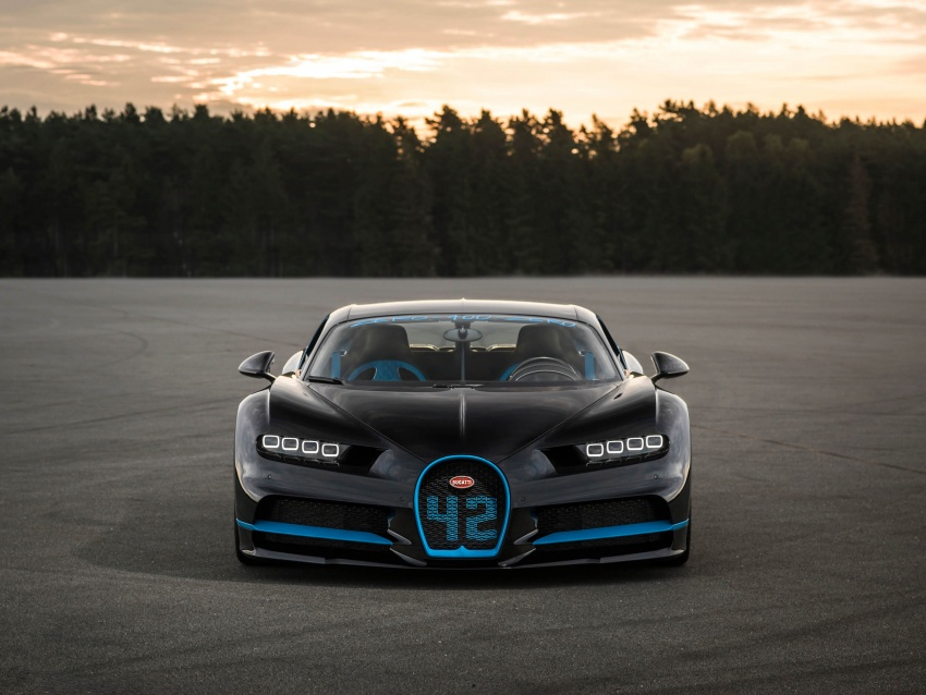 VIDEO: Bugatti Chiron – 0-400-0 km/h in 42 seconds! Image #708334