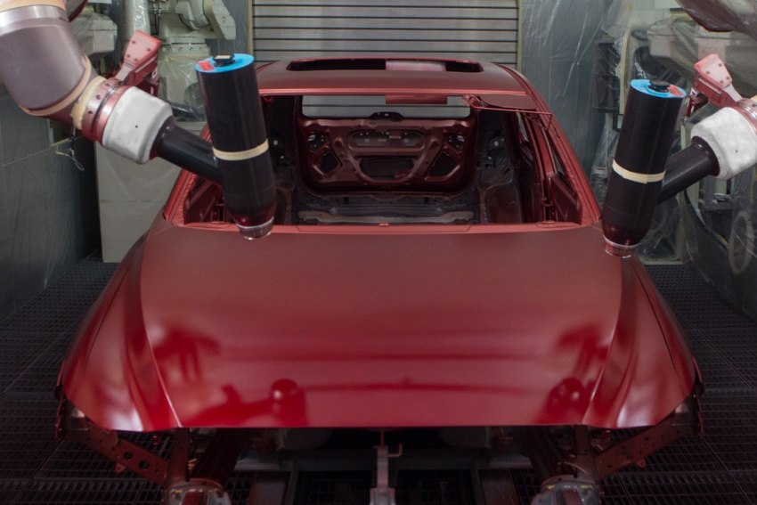 Mazda Malaysia launches new paint centre at Inokom plant – exports to include more ASEAN countries Image #715859