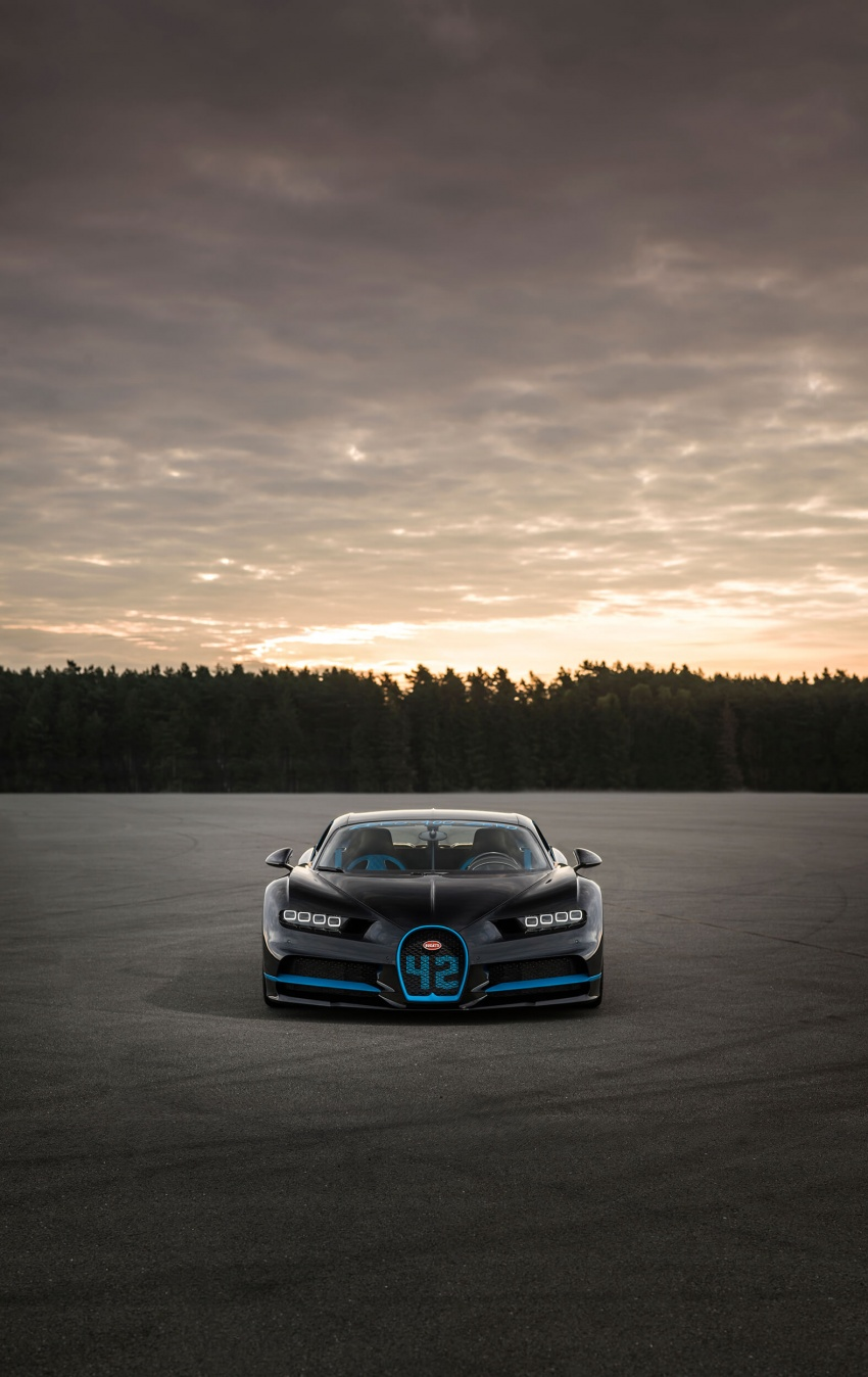 VIDEO: Bugatti Chiron – 0-400-0 km/h in 42 seconds! Image #708335