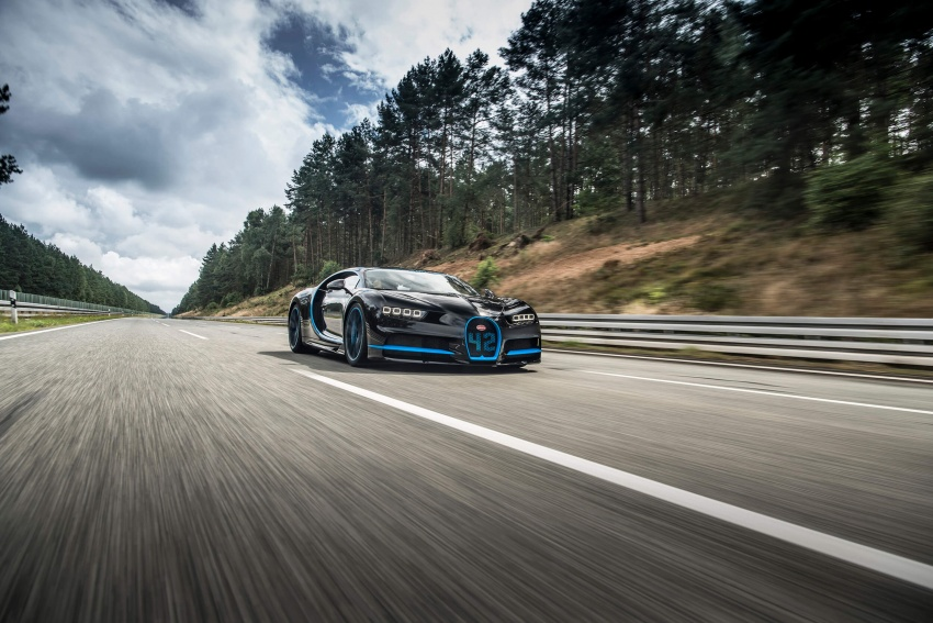 VIDEO: Bugatti Chiron – 0-400-0 km/h in 42 seconds! Image #708320