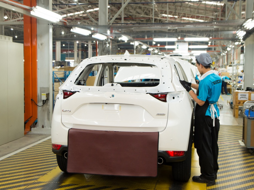 Mazda Malaysia launches new paint centre at Inokom plant – exports to include more ASEAN countries Image #715864