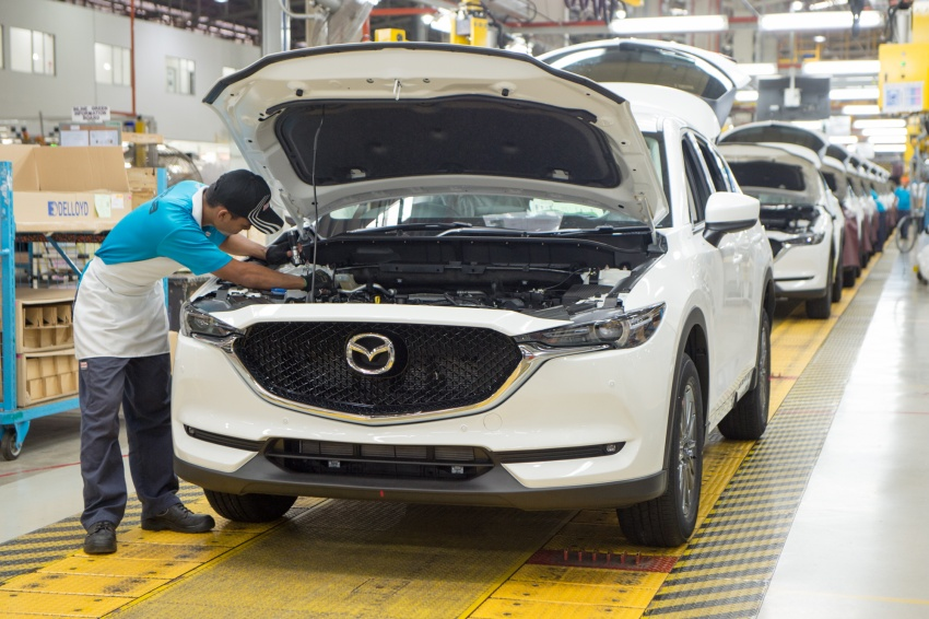 Mazda Malaysia launches new paint centre at Inokom plant – exports to include more ASEAN countries Image #715865