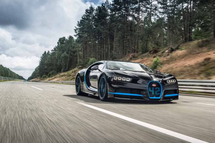 VIDEO: Bugatti Chiron – 0-400-0 km/h in 42 seconds! Image #708321
