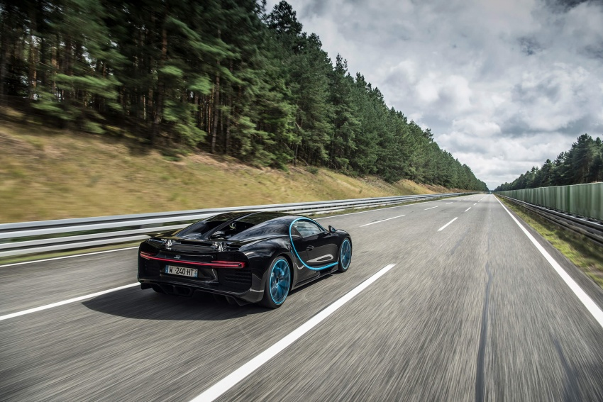 VIDEO: Bugatti Chiron – 0-400-0 km/h in 42 seconds! Image #708322