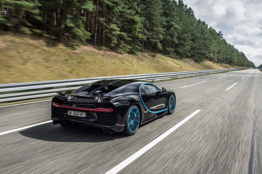 VIDEO: Bugatti Chiron – 0-400-0 km/h in 42 seconds! Image #708323