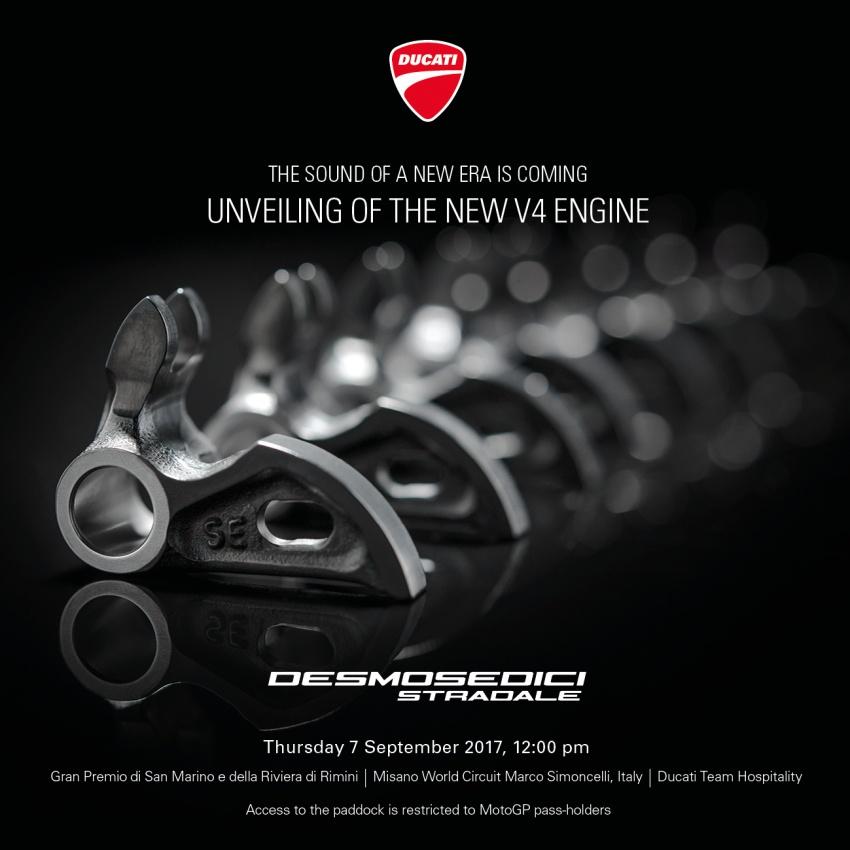 Ducati unveils new Desmosedici Stradale V-four Image #710486
