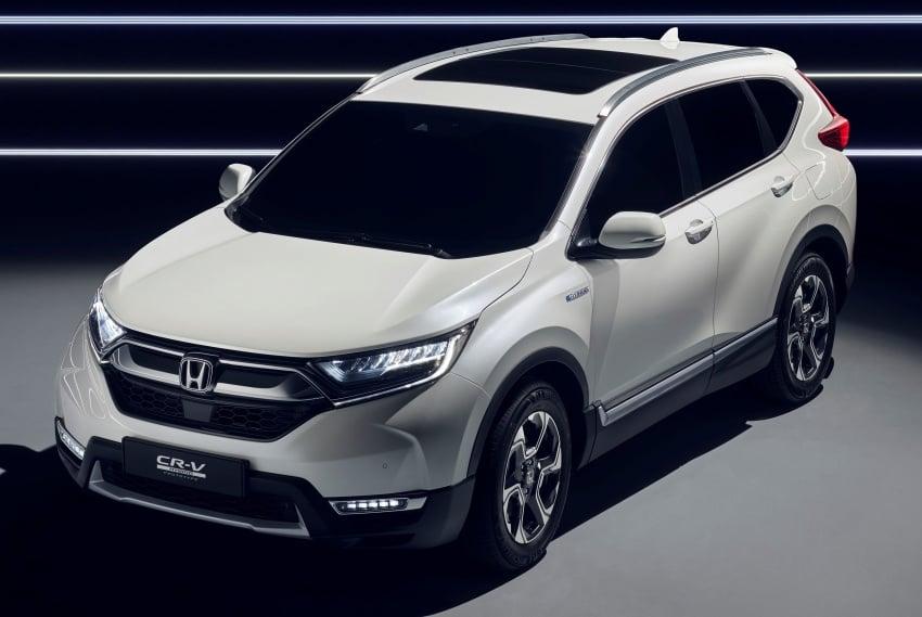Honda CR-V Hybrid Prototype revealed at Frankfurt Image #705838