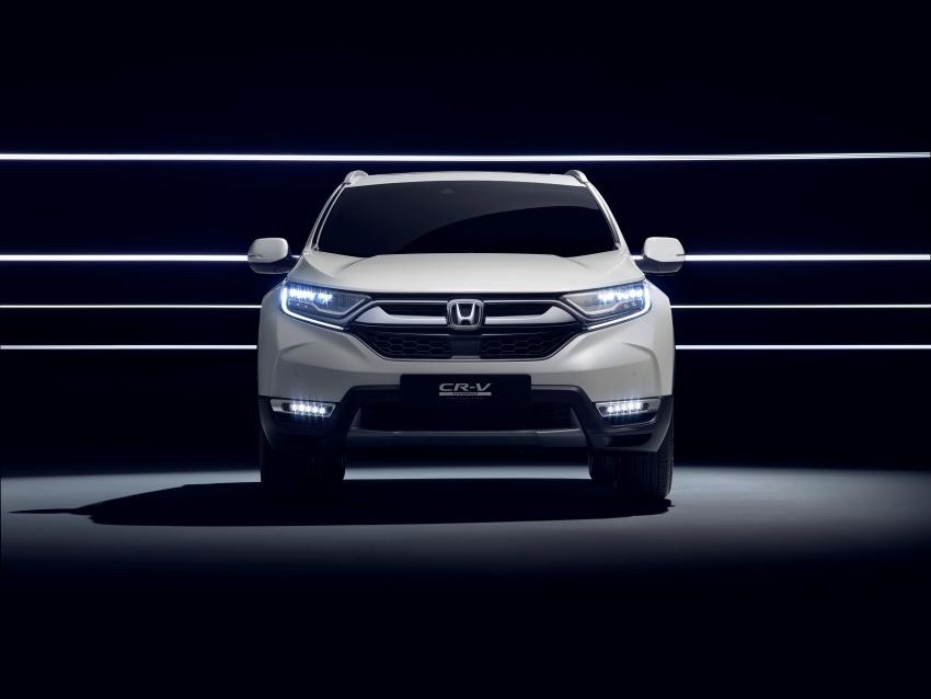 Honda CR-V Hybrid Prototype revealed at Frankfurt Image #705839