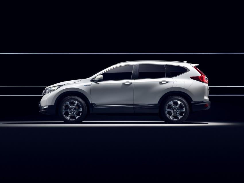 Honda CR-V Hybrid Prototype revealed at Frankfurt Image #705840