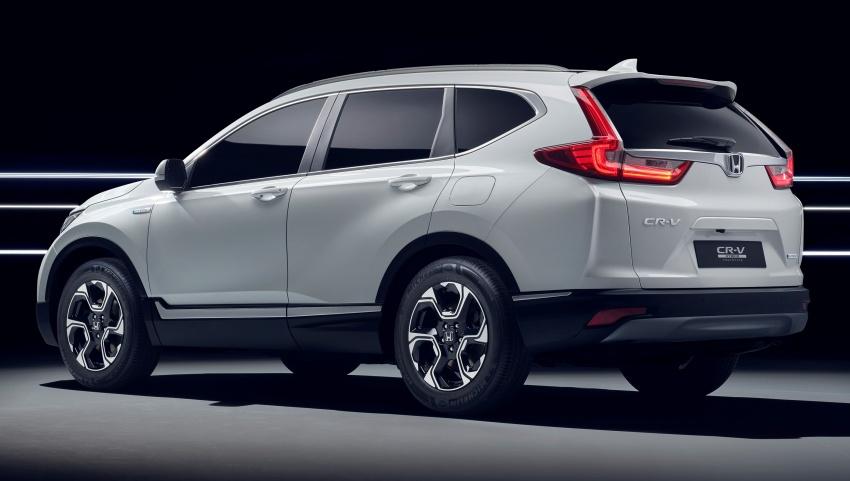 Honda CR-V Hybrid Prototype revealed at Frankfurt Image #705841