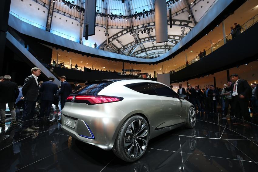 Mercedes-Benz Concept EQ A revealed in Frankfurt Image #712107
