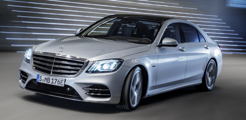 Mercedes-Benz S560e debuts in Frankfurt – up to 50 km of electric driving range, 0-100 km/h in 5 seconds Image #709280