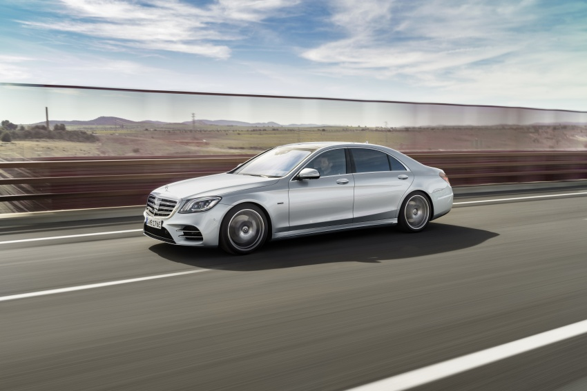 Mercedes-Benz S560e debuts in Frankfurt – up to 50 km of electric driving range, 0-100 km/h in 5 seconds Image #709288