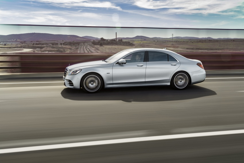 Mercedes-Benz S560e debuts in Frankfurt – up to 50 km of electric driving range, 0-100 km/h in 5 seconds Image #709289