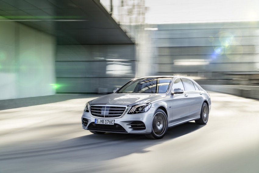 Mercedes-Benz S560e debuts in Frankfurt – up to 50 km of electric driving range, 0-100 km/h in 5 seconds Image #709297