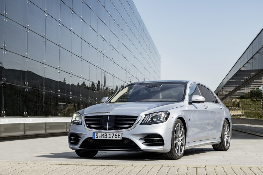 Mercedes-Benz S560e debuts in Frankfurt – up to 50 km of electric driving range, 0-100 km/h in 5 seconds Image #709305