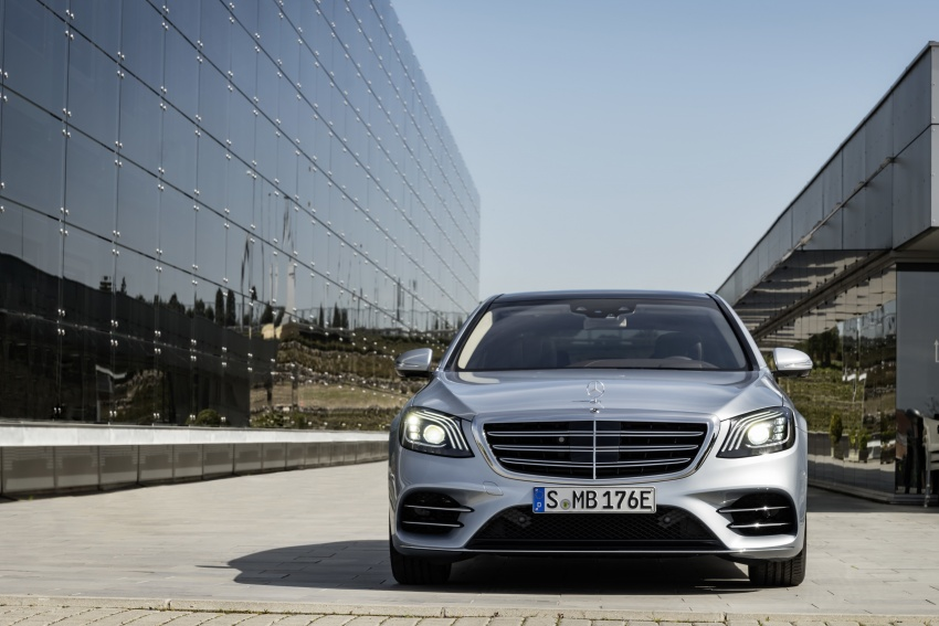 Mercedes-Benz S560e debuts in Frankfurt – up to 50 km of electric driving range, 0-100 km/h in 5 seconds Image #709306