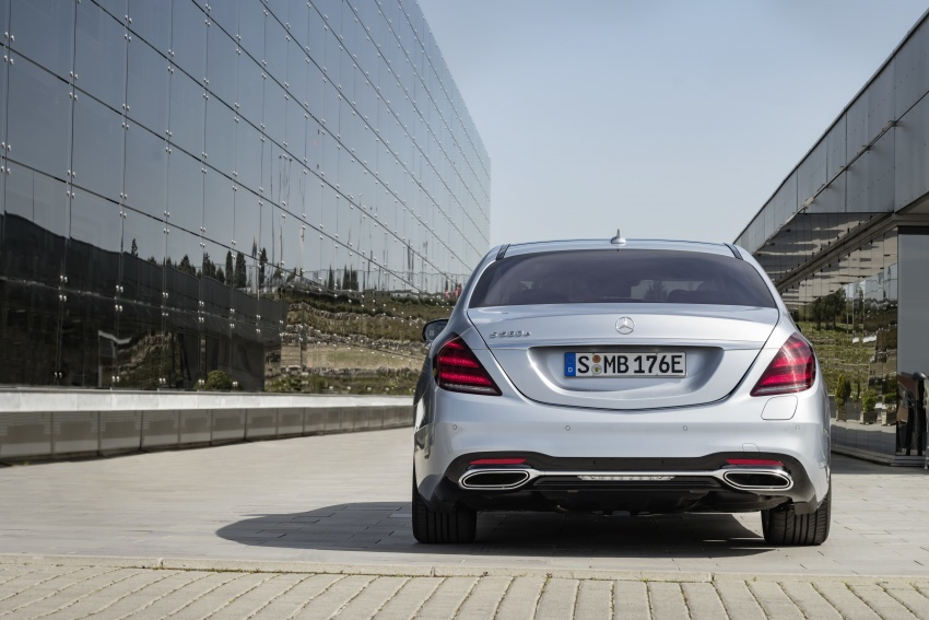 Mercedes-Benz S560e debuts in Frankfurt – up to 50 km of electric driving range, 0-100 km/h in 5 seconds Image #709307