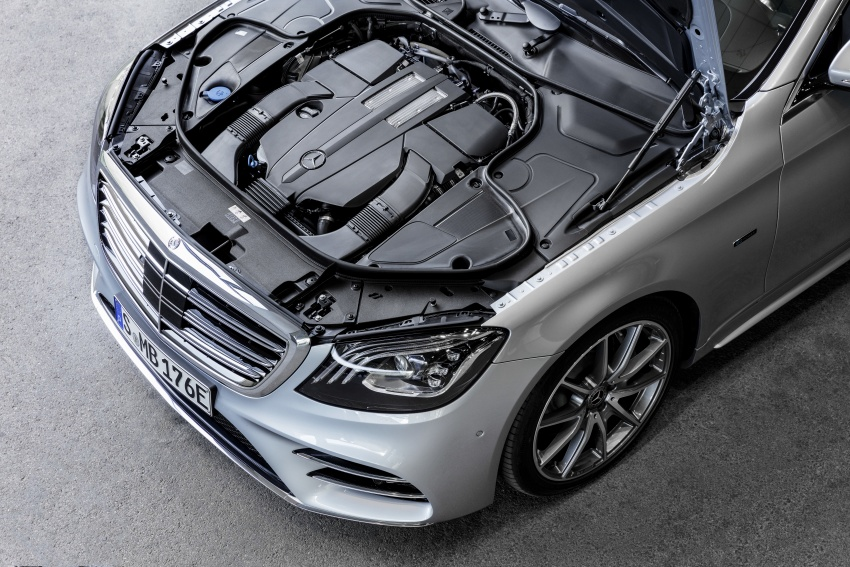 Mercedes-Benz S560e debuts in Frankfurt – up to 50 km of electric driving range, 0-100 km/h in 5 seconds Image #709308