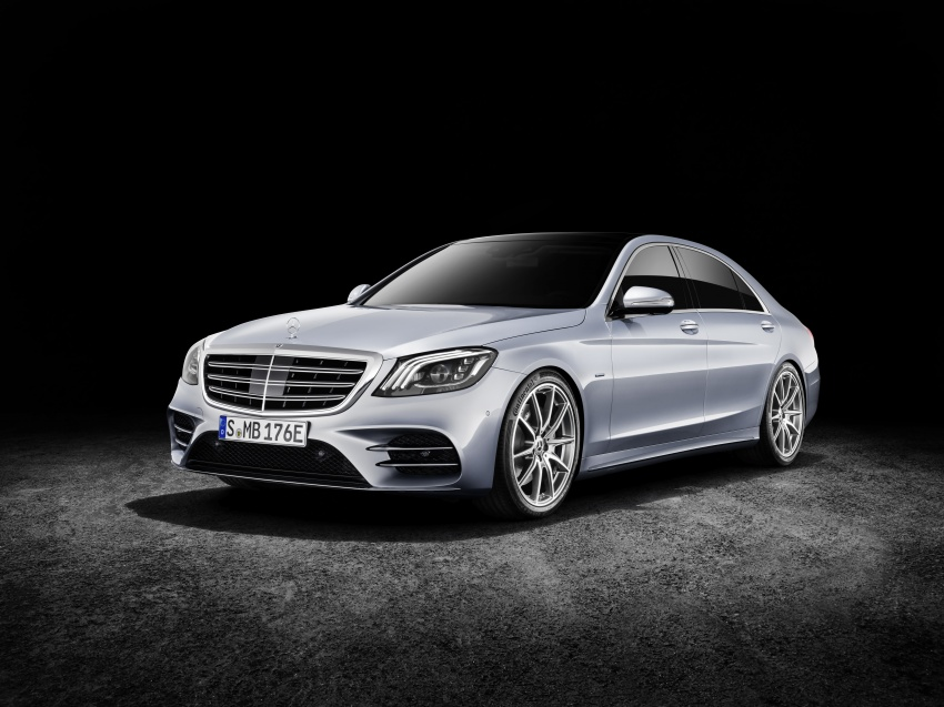 Mercedes-Benz S560e debuts in Frankfurt – up to 50 km of electric driving range, 0-100 km/h in 5 seconds Image #709316